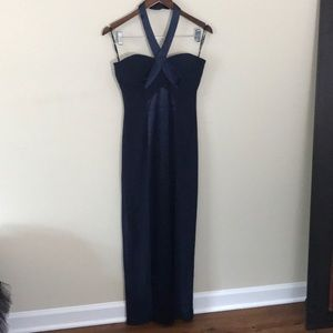 Niteline Della Roufogali Halter Neck Prom Dress